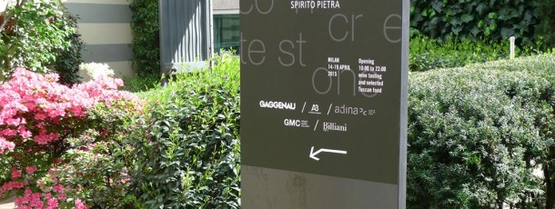 Breccia Capraia at Fuorisalone in Milan