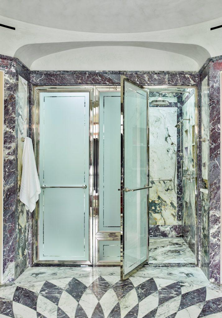 PRIVATE VILLA – Master Bathroom -Shower Enclosure