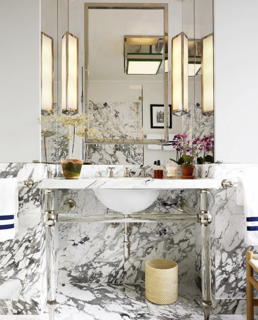 bathroom usa- cover Elle DEcor marzo 2020 manhattan upper east side